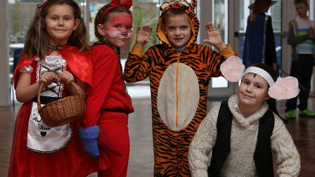 De Havilland Primary School year 3 pupils dressed as characters from their favourite books to celebr