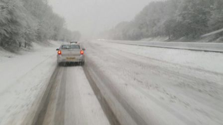 Motorists are being warned of treacherous travelling conditions for tomorrow and Friday. Picture: So