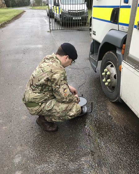 A live grenade has been disposed in Wisbech today after its owner believed it to be decommissioned.