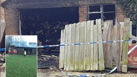 Two fires in Wisbech have been confirmed as deliberate by fire chiefs. PHOTO: Submitted