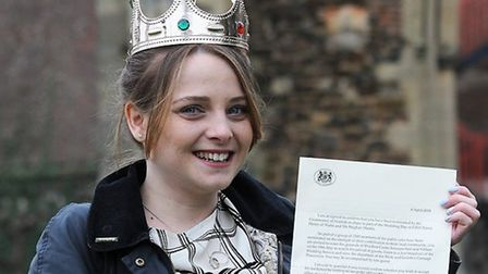 Leverington youth worker Carly Hain who has received an invitation to the grounds of Windsor Castle