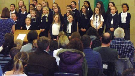 Cromwell Community College is host to the Schools Make Music event that saw Fenland schools come tog