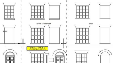 An estate agent has applied for retrospective permission to use the ground floor of a 19th century l