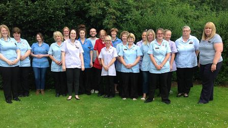 Lyncroft Care Home staff gets ready to celebrate National Care Home Open Day 2018. PHOTO: Submitted