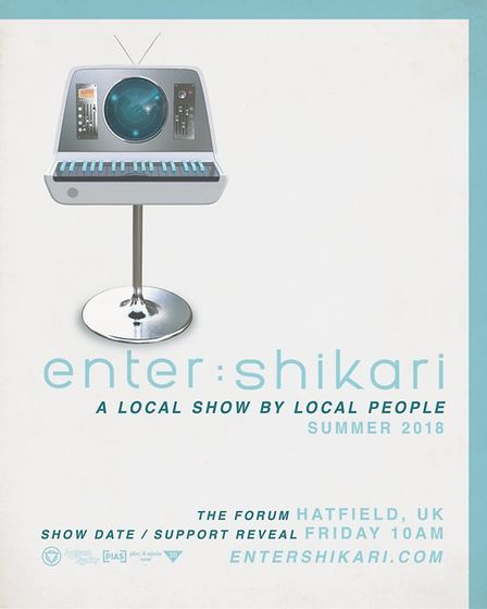 Enter Shikari will be playing another gig at The Forum Hertfordshire in Hatfield - with the date to