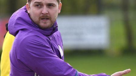 Wisbech St Mary manager Arran Duke saw his side suffer cup final defeat for the second season runnin