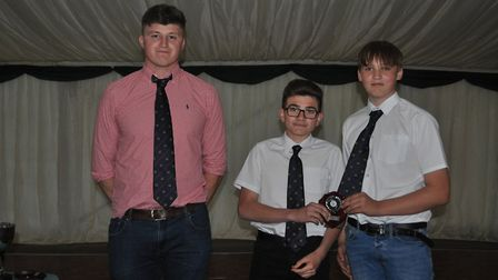 James Wright and Reeve Brightly - The Wisbech Rugby Club held their annual awards evening, celebrati