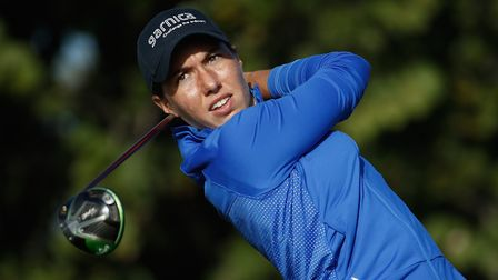 Carlota Ciganda of Spain is the latest female star to join the GolfSixes field (Photo by Andy Lyons