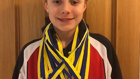 Wisbech Grammar School 1st Form pupil, Ollie Smithee, of Emneth, recently attended a City of Peterbo