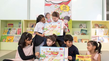 The Summer Reading Challenge across Hertfordshire is looking for volunteers. Picture: Hertfordshire