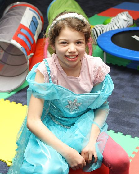 Hatfield Connect Reopening - Emilia Hoxha, 9, enjoys playing in the soft play area.Picture: Karyn