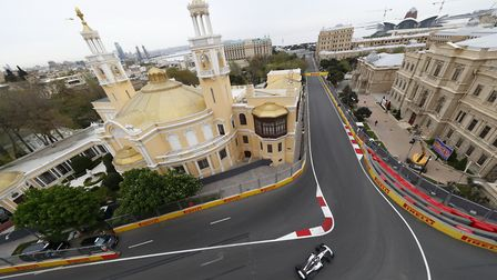 The 2018 Azerbaijan Grand Prix circuit in Baku [Picture: Wolfgang Wilhelm for Daimler AG]