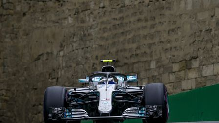 Valtteri Bottas in qualifying for the 2018 Azerbaijan Grand Prix [Picture: Wolfgang Wilhelm for Daim