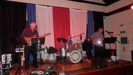 Sounds Familiar played their final gig on April 21 at Upwell Village Hall.