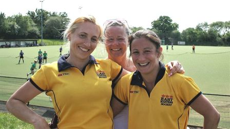 Laura Overland (Wisbech), Lyn Sullivan (City of Peterborough) and Jo Bland (Long Sutton)