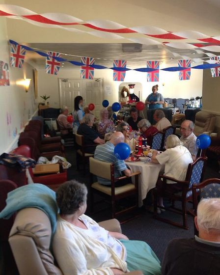 Lyncroft Care Home in Wisbech opens doors for Royal Wedding celebrations