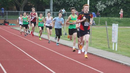 Thirty Wisbech Grammar School students took on the Cambridgeshire AA Championships in Peterborough o