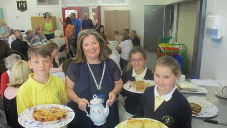 Grandparents were invited to Pope Paul Primary School in Potters Bar.