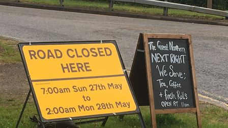 Roads near the entrance to Hatfield Park in Old Hatfield will be closed to traffic on Sunday, May 27