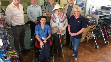 Herts Action on Disability has unveiled a new-look equipment centre. Picture: HAD