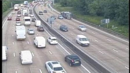 A crash has happened on the M25 between Potters Bar and Enfield. Picture: Highways England