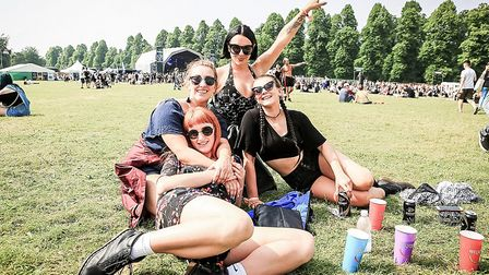 A group from Brighton at Hatfield for the day at Slam Dunk South 2018 Hatfield (pic: Kevin Richards)