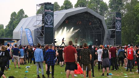 Jaegermeister Stage at Slam Dunk South 2018 Hatfield (pic: Kevin Richards)
