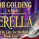 Bob Golding will return to The Alban Arena in 2018 St Albans pantomime Cinderella
