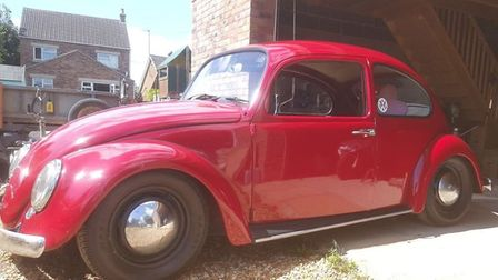 A 1967 VW Beetle is stolen from the Wisbech area.