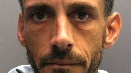 Wanted Wisbech man Lee Thompson was caught after he was seen acting suspiciously by a plain-clothed
