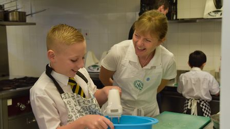 Welwyn teachers Ellen Tuck and Marie Reynolds have helped create a national Young Chef Award for Sch