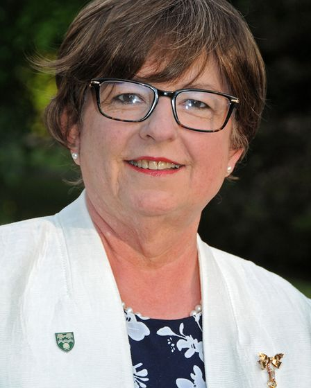 Council leader Mandy Perkins. Picture: WHC