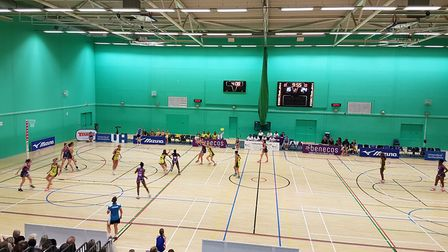 benecosMavericks just came up short in the Vitality Netball Superleague at the Hertfordshire Sports