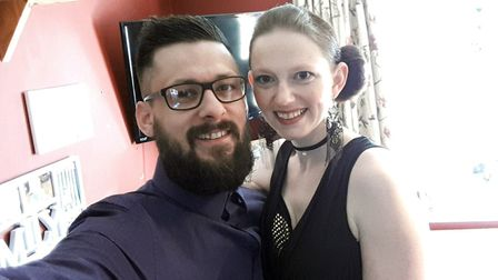 Wisbech fundraisers Ben and Sarah shortlisted for national award. PHOTO: Submitted.