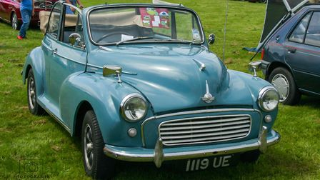 The first of two classic vehicle displays held in Christchurch on Sunday (June 10). Picture(s): Nate