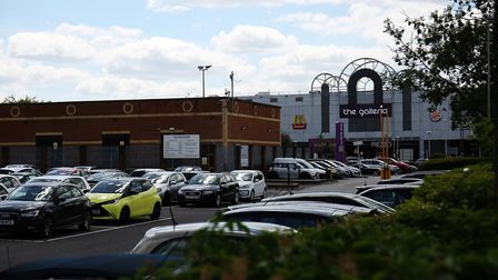 One of the Galleria, Hatfield car parks opposite the police station. Picture: DANNY LOO