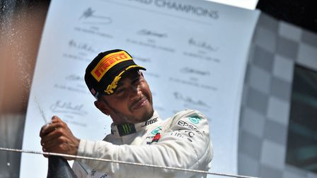 Lewis Hamilton finished second in the 2018 British Grand Prix at Silverstone. Picture: Sean Ramsell.