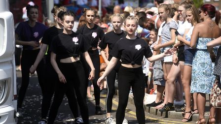 Wisbech came alive with the sights and sounds of the 2018 Rose Fair. PHOTO; Ian Carter.
