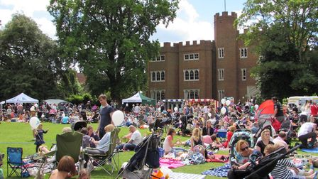 Enjoy a free family afternoon of entertainment and activities at this year's Hertford Castle Teddy B