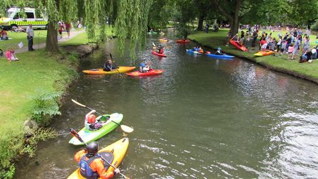 You can try your hand on the water at the Hertford Castle Teddy Bears' Picnic thanks to Hertford Can