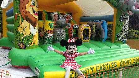 There will be a bouncy castle at Hertford Castle's Teddy Bears' Picnic