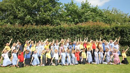 Fenland primary school pupils have been 'wowing audiences' when performing songs from the West End.