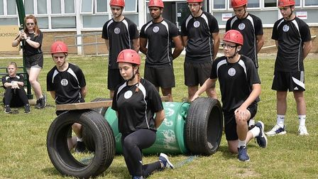 Uniformed and public services students at the College of West Anglia went head-to-head during an ann