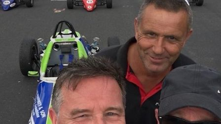 Wisbech man Bill 'Wom' Garner is back to racing form after 27 years