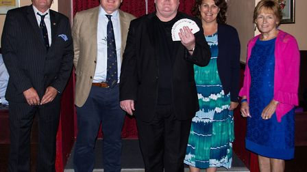 Wisbech Business & Professional Men's Club's ladies night included entertainment from magician/mediu