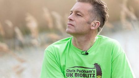 TV's Chris Packham is set to visit the Fens as part of an investigation into which wildlife species