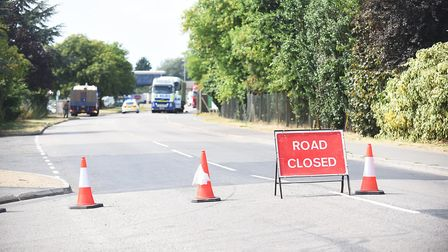 Emergency services were called at 8.36am on Monday morning to reports of a crash in Weasenham Lane,
