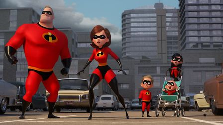 Everyone's favourite superhero family return in The Incredibles 2.