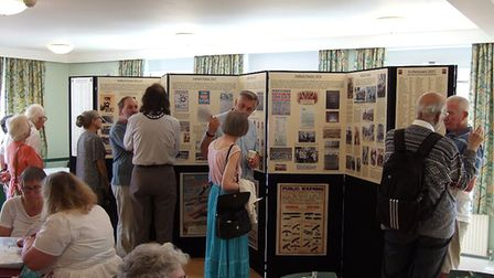 Hatfield 1914-1919 exhibition Picture: Supplied by Hatfield Local History Society