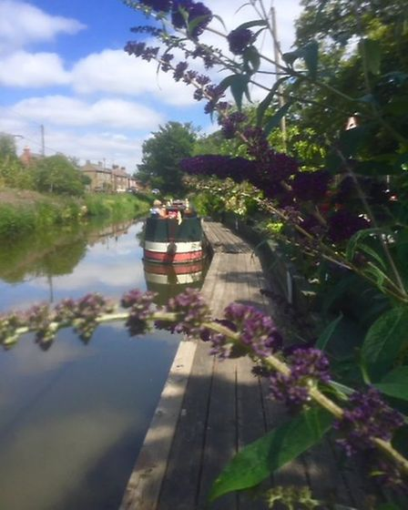 Mooring improvements and have a fresh look has been given to Well Creek that runs through Upwell, Ou